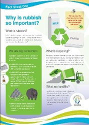 Fact Sheet 1: Why is rubbish so important?